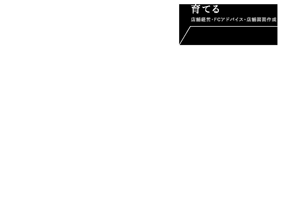 育てる 店舗経営・FCアドバイス・店舗図面作成